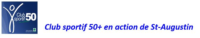 Club sportif 50+ en action de St-Augustin